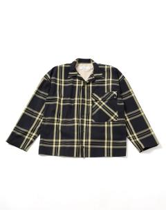 【Blonde rush】チェックビッグシャツ
