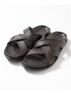 【The Sandals Factory】別注3ベルトレザーサンダル