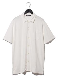 :USAコットンオープンシャツSS