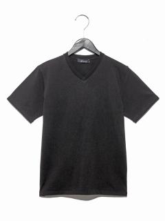 :オーガニック超長綿VネックTシャツSS