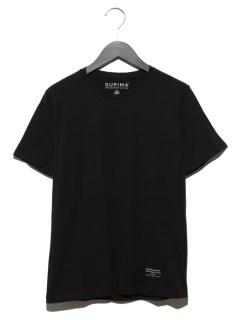 :スーピマコットンクルーネックTシャツSS