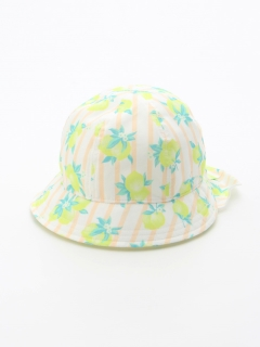 【Cream Chantilly】レモン保冷剤ポッケ付帽子