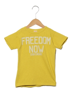 【Denim Dungaree】FREEDOM NOW TEE