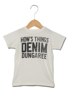 【Denim Dungaree】DENIM DUNGAREE ロゴTEE