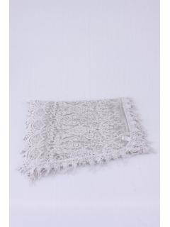 ダマスクレース刺繍ストール
