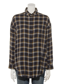 Lugnoncureチュニックオーバーシャツ