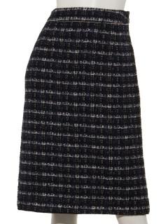Techichi CLASSICファンシーツイードタイトスカート