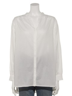 Lugnoncureギャザースキッパーシャツ