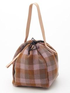 Lugnoncureウールストリングバッグ