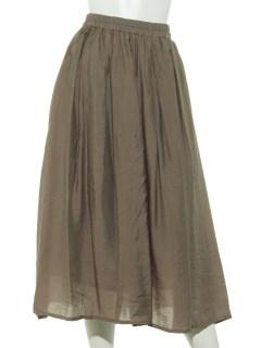 Lugnoncureヴィンテージサテンスカート