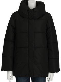 Lugnoncureボリュームカラー中綿コート