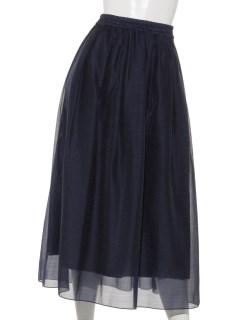 オーガンジーマキシスカート