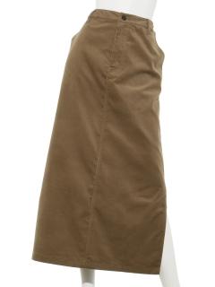 Lugnoncure細コールタイトスカート