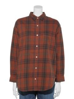 LugnoncureネルチェックシャツLS