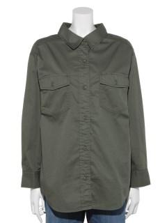 LugnoncureミリタリーシャツLS