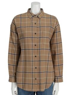 Lugnoncure21ネルチェックシャツLS