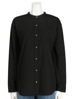 LugnoncureバンドカラーシャツLS