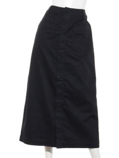 Lugnoncureチノセミタイトスカート