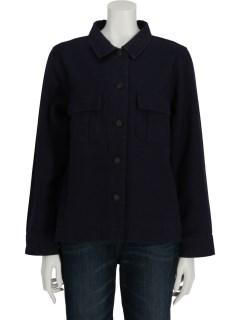 Lugnoncureミリタリーシャツジャケット