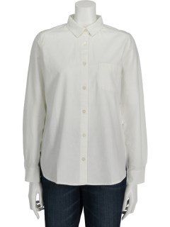 Lugnoncureオックス起毛レギュラーシャツ