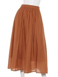 Lugnoncureコットンギャザースカート