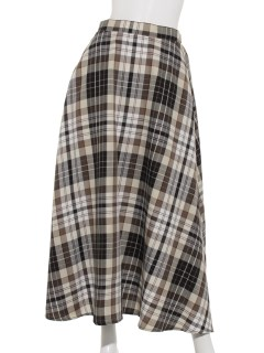 Techichi TERRASSEチェックAラインスカート