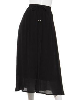 Lugnoncureギャザーマキシスカート