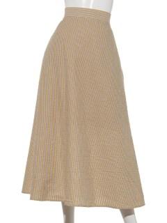Techichi TERRASSEサッカーストライプAラインスカート