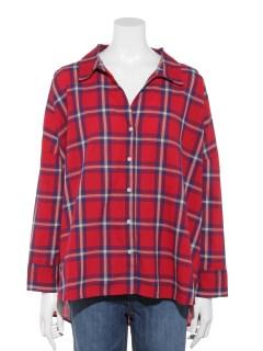 Lugnoncureビックシルエットシャツ 長袖