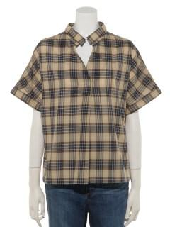 Lugnoncure60ローンスキッパーシャツ SS