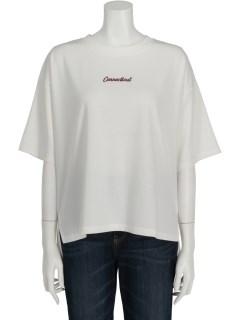 Techichi TERRASSEポンチロゴ刺繍BIGTシャツ 5S