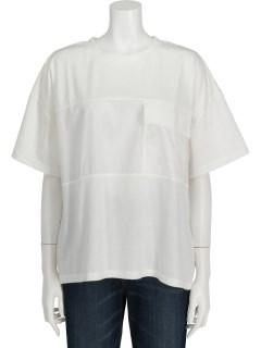 Techichi TERRASSE布帛切替Tシャツ 5S