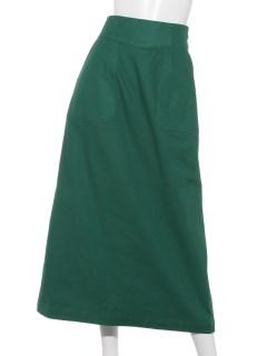 Techichi TERRASSEバックサテンレースアップスカート