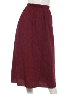 パッチワーク小花スカート