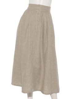 前ボタンスカート