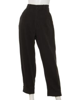 ツイル裾釦パンツ