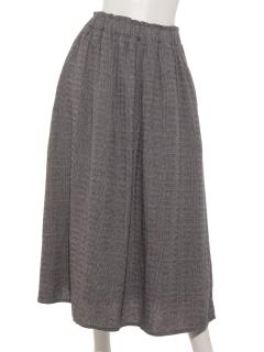 変わり織ギャザースカート