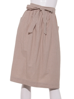 SM2 home's綿麻SH刺繍エプロンスカート