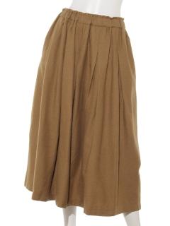 TSUHARUタックギャザースカート