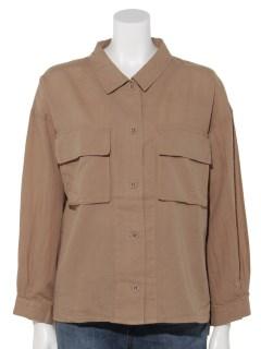 綿麻シャツジャケット