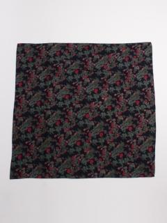 花柄大判スカーフ