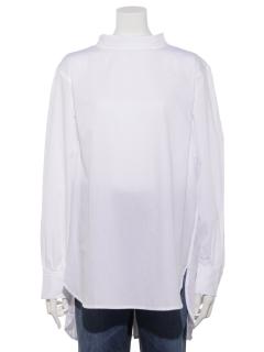 sm2rhythmロールネックシャツ