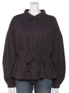 ウエストドロストシャツジャケット