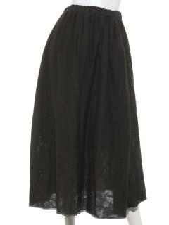 チュールギャザースカート