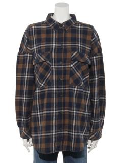 オゾン加工2wayチェックシャツ