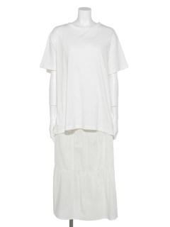 [セットアイテム]Tシャツ+ワンピース