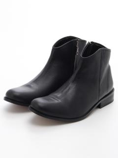【London Shoe Make】本革ショートブーツ サイドファスナー