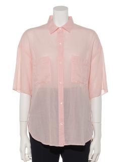 Cラミーボイルビックシャツ