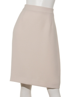 バックサテンタイトスカート