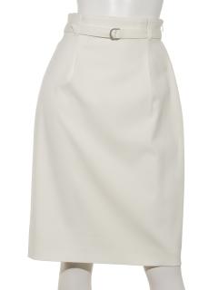 強撚OXベルトタイトスカート